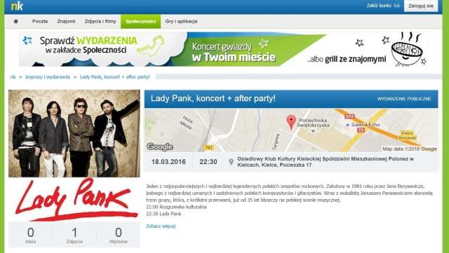 Lady Pank w Polonezie